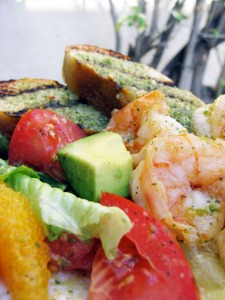 Tequila-lime Shrimp / Avocado Citrus Salad