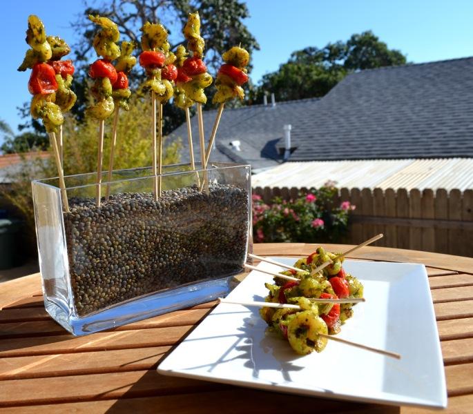 Pesto Shrimp Skewer